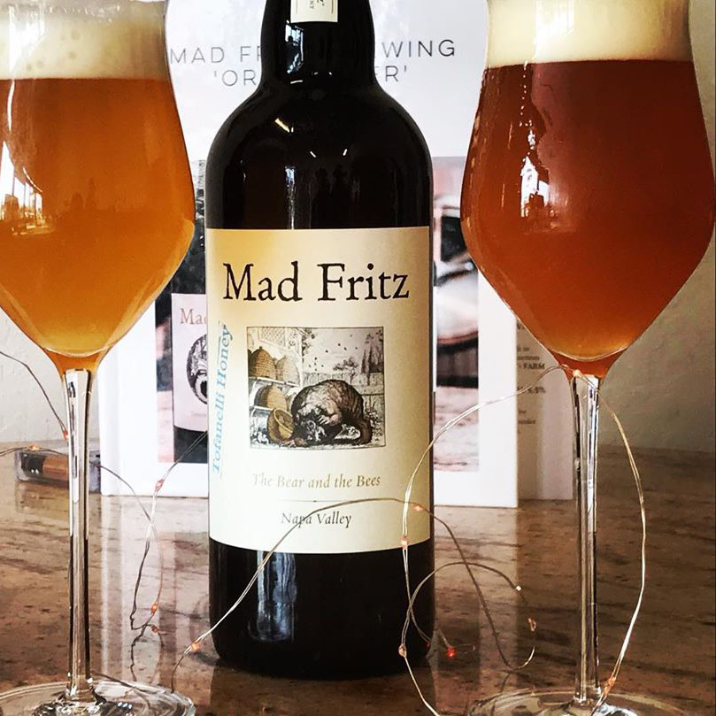 Mad Fritz The Bear and the Bee Honey Ale